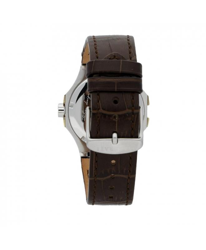Maserati Potenza 42mm 3h black dial brown strap uomo R8851108017 - galleria 2