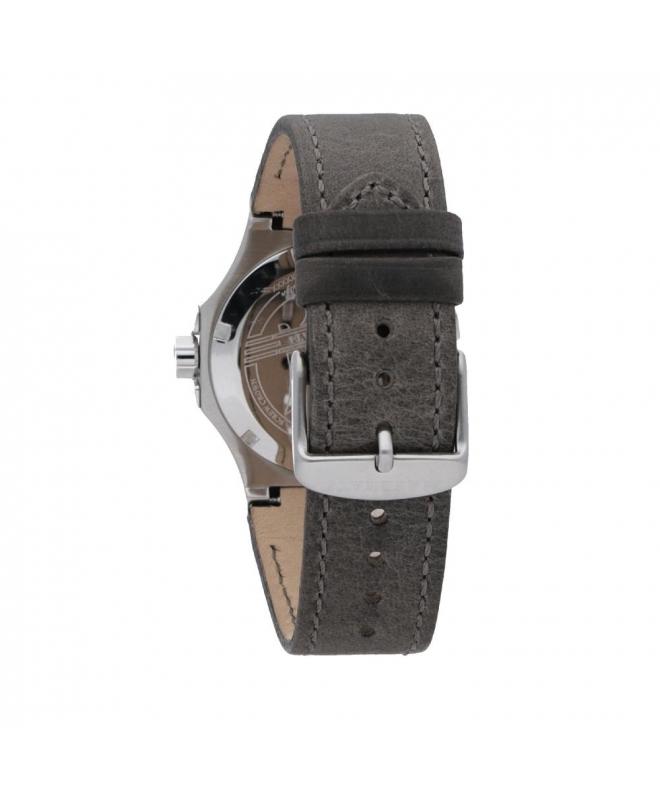 Maserati Potenza 42mm 3h silver dial grey strap uomo R8851108018 - galleria 2