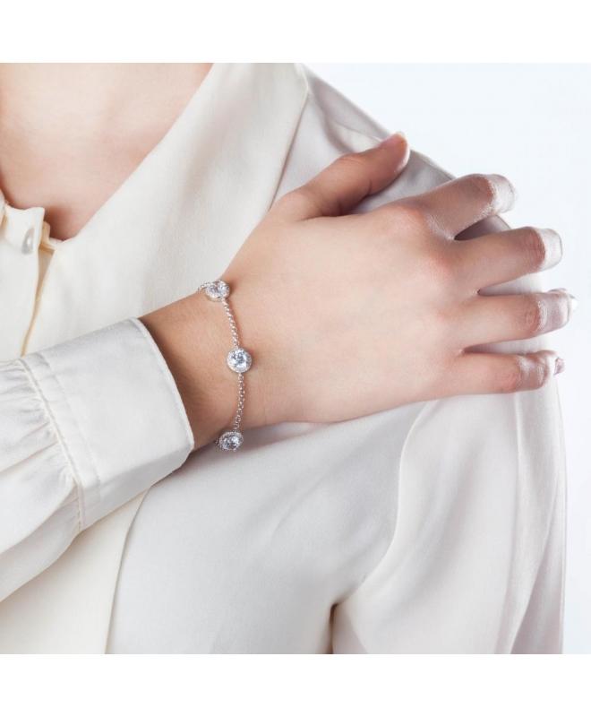 Morellato Tesori argento br.white zircons arg.925 donna SAIW05 - galleria 2