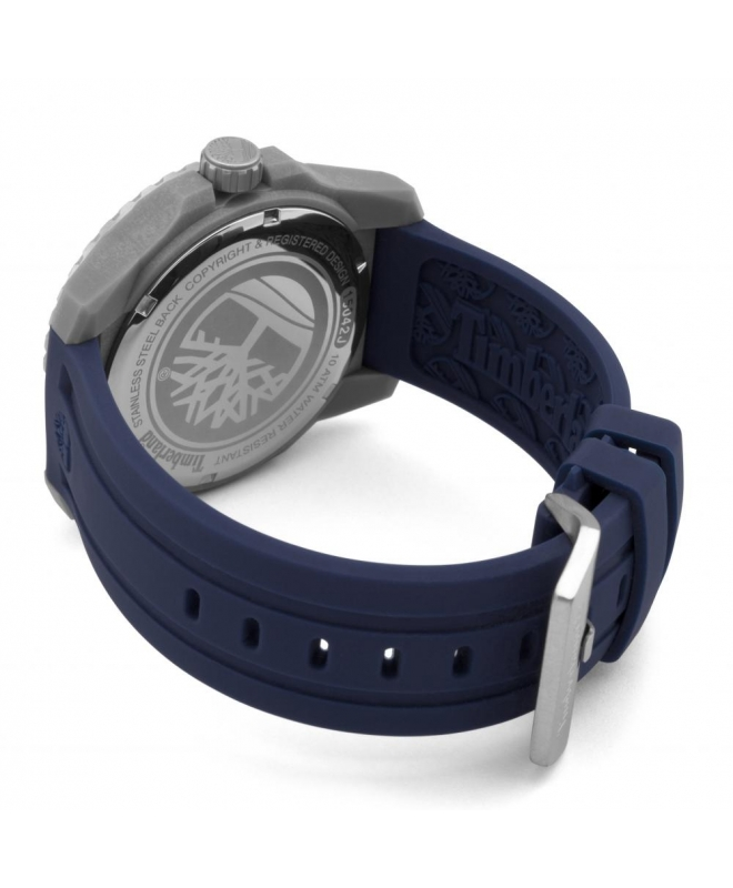 Timberland Westmore 3h beige dial blue silicon st - galleria 3
