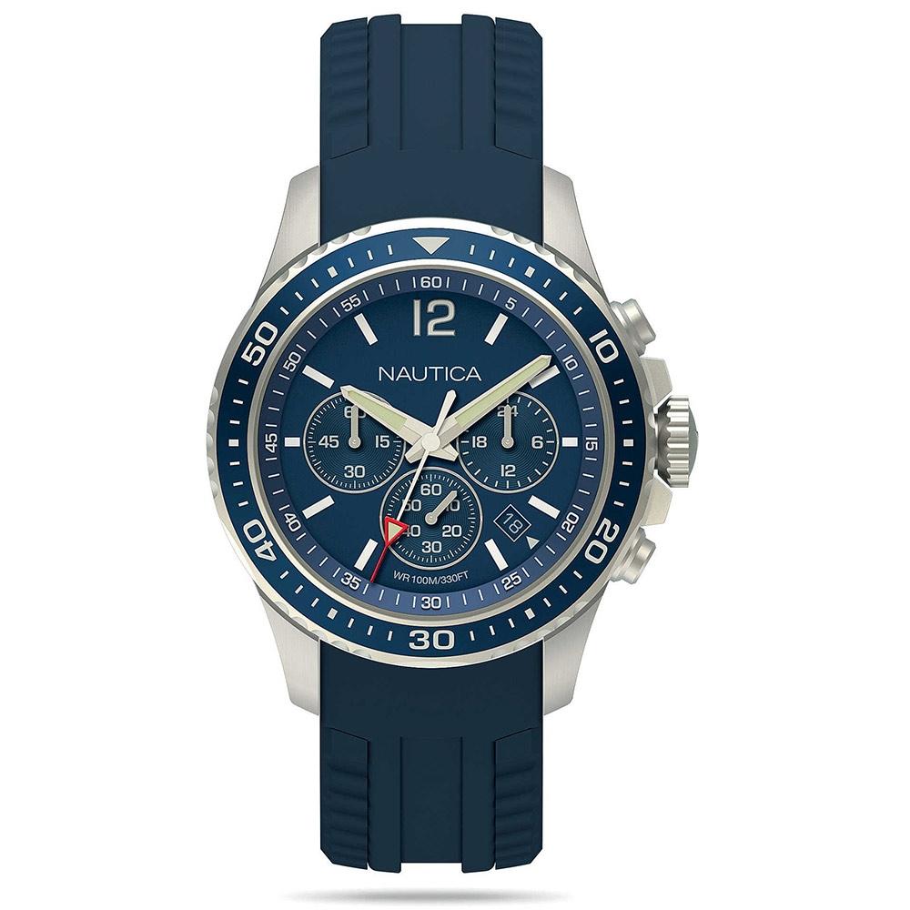 negozio online 16783 1f278 Offerta Orologio Nautica Freeboard uomo gomma