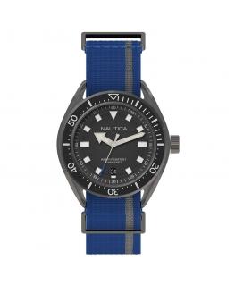 Orologio Nautica Portofino uomo tessuto blu - 43 mm