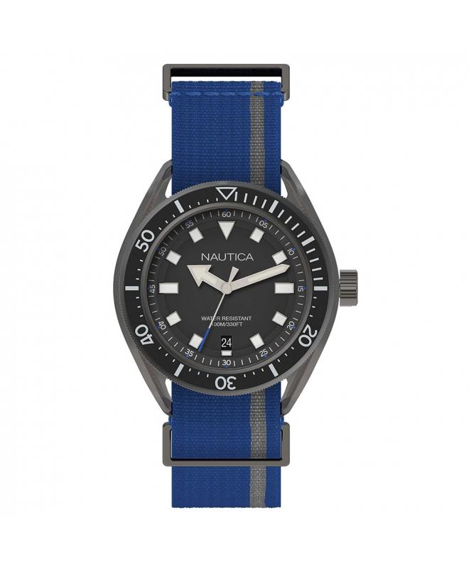 Orologio Nautica Portofino uomo tessuto blu - galleria 1