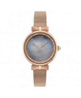 Orologio Ted Baker Jessica donna acciaio oro rosa / azzurro
