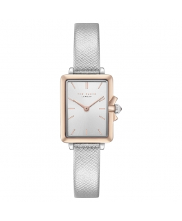 Orologio Ted Baker Tess donna pelle argento / silver