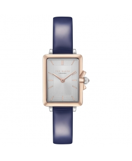 Orologio Ted Baker Tess donna pelle blu / silver