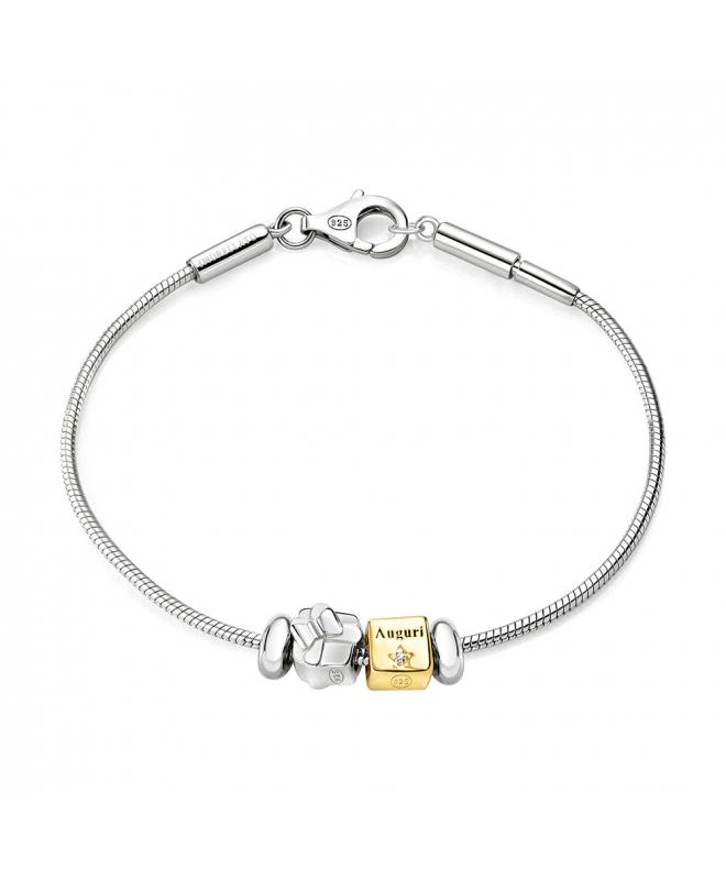 Bracciale Morellato Solomia argento 925 br. 2 beads donna SAFZ63 - galleria 1