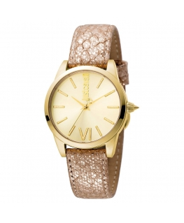 Orologio Just Cavalli Relaxed donna pelle / oro