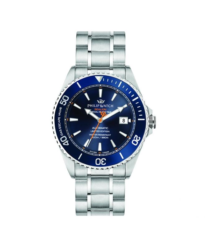 Orologio Philip Watch Sealion Automatico blu 42mm - galleria 1