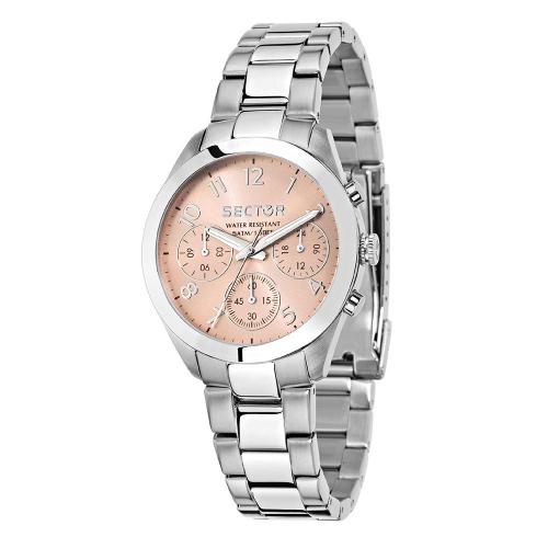 Orologio Sector 120 36mm mult rg dial bracelet ss donna
