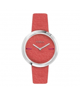 Furla My piper 34mm 2h orange dial oran strap