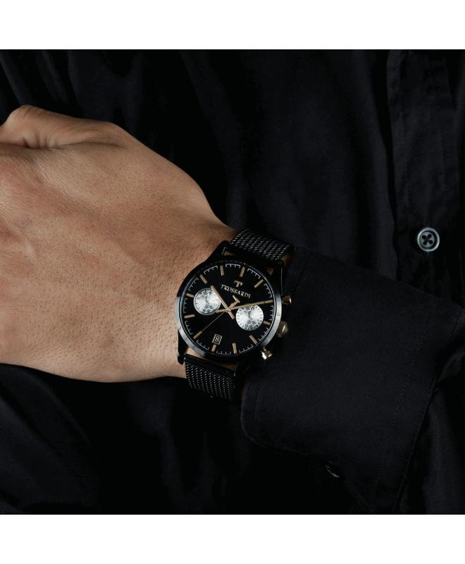 Orologio Trussardi T-genus uomo nero 40mm - galleria 2