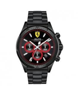 Orologio Ferrari Pilota nero uomo