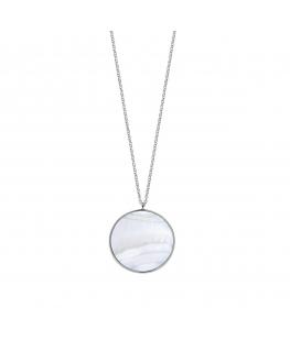 Collana Morellato Perfetta argento / madreperla 80 cm