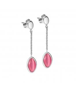 Orecchini Morellato Profonda acciaio rosa
