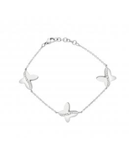 Bracciale Morellato Battito acciaio farfalla