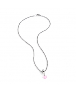 Collana Morellato Drops cuore rosa donna SCZ487