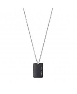Pendente Morellato Stile uomo nero crystal 45-50cm