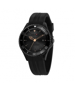 Sector De gayardon 230 3h black dial black st uomo R3251523001