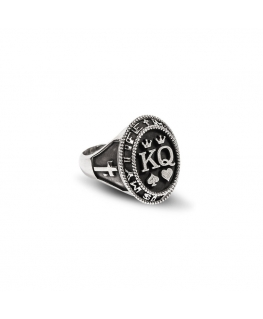 Anello Mom argento 925 Re / Regina