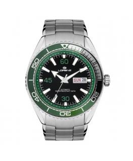 Orologio Lorenz Diver Automatic nero / verde