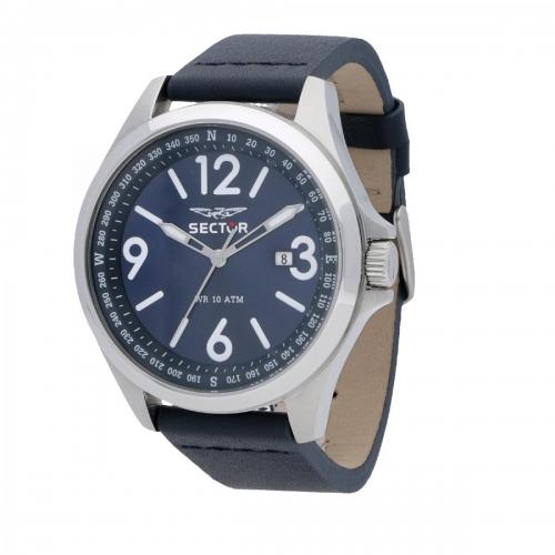 Orologio Sector collezione 180 45mm blu uomo R3251180017