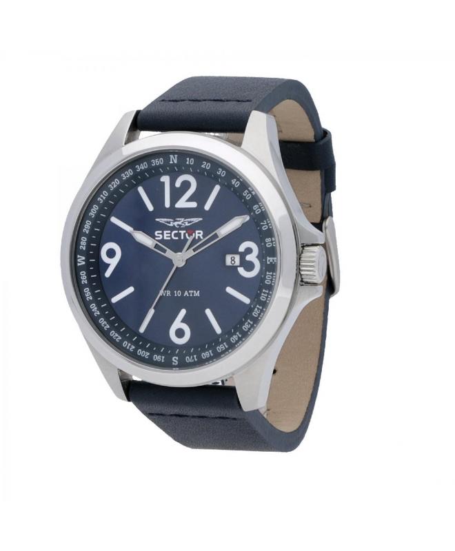 Orologio Sector collezione 180 45mm blu uomo R3251180017 - galleria 1