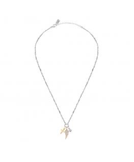 La Petite Story Charms story necklace lps wcross 42+5cm