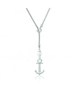 Paul Hewitt Necklace anchor silver