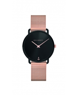 Paul Hewitt Watch miss ocean line black dial br rose