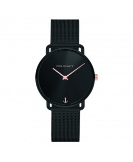 Paul Hewitt Watch miss ocean line blk dial mesh blk