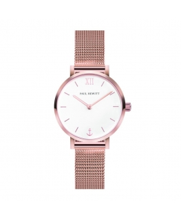 Paul Hewitt Watch sailor line whi dial mesh grose