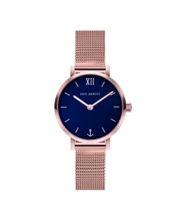 Paul Hewitt Watch sailor line blu dial mesh grose