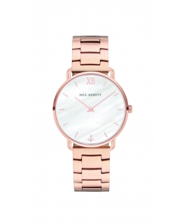 Paul Hewitt Watch miss ocean line pearl dial br rose