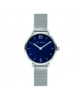 Paul Hewitt Watch sailor line blu dial mesh sil