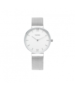 Tayroc Orol signature white dial silver br