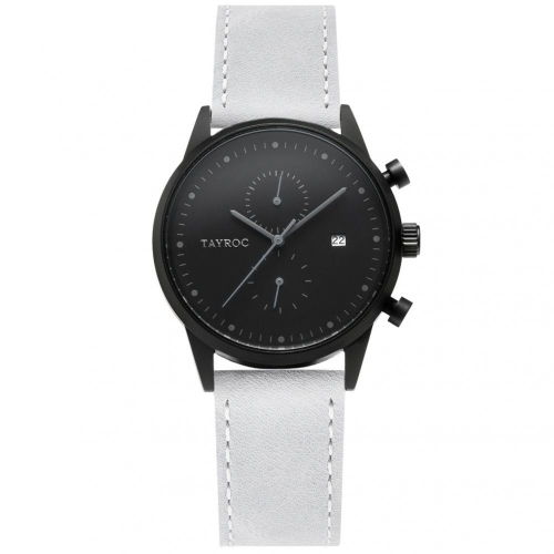 Tayroc Orol boundless black dial grey str