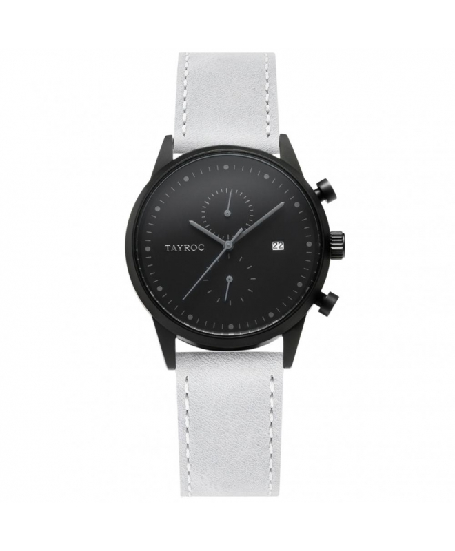 Tayroc Orol boundless black dial grey str - galleria 1