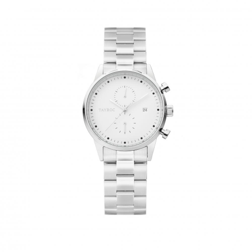 Tayroc Orol boundless white dial silver br
