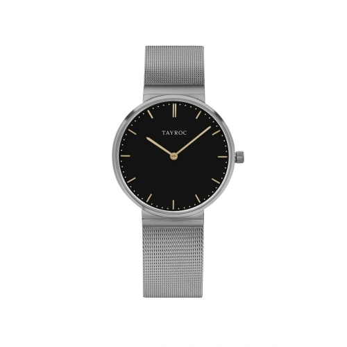 Tayroc Orol signature black dial light grey br