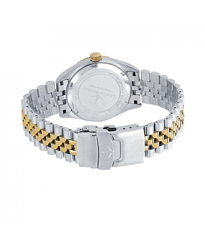 Lucien Rochat Reims lady 35mm 3h yg dial ss+yg br - galleria 2