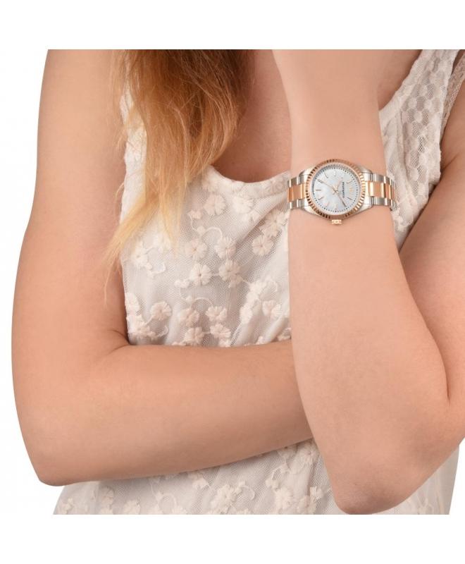 Philip Watch Caribe ext 3h white dial /brac rg donna R8253107513 - galleria 2