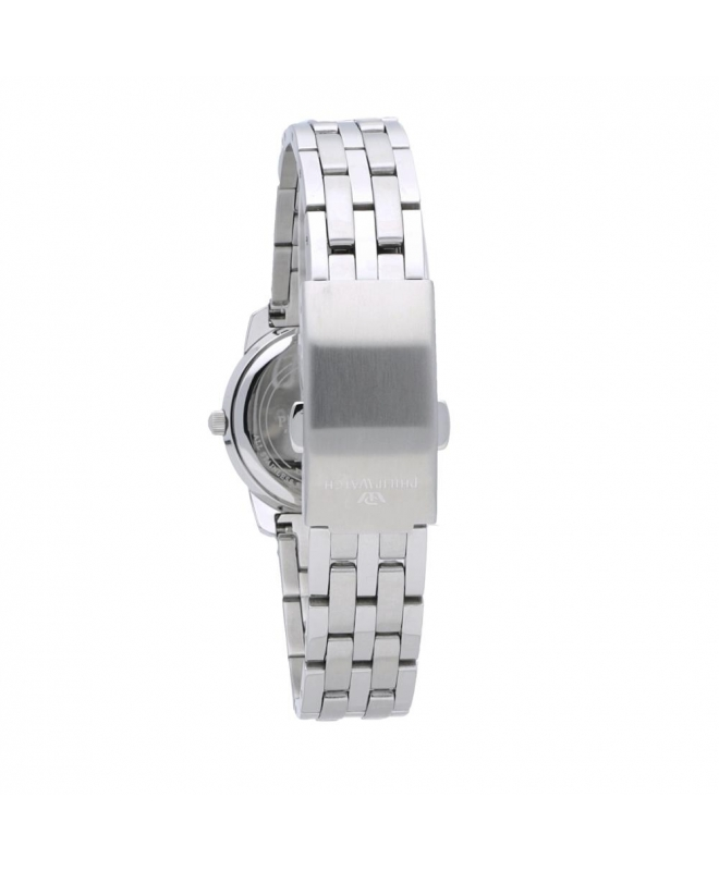 Philip Watch Timeless lady 28mm 3h white dial ss br donna - galleria 2