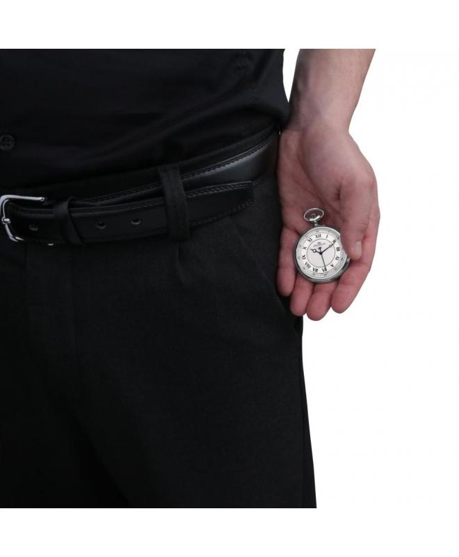 Philip Watch Tasca 48mm 3h white and silver uomo R8259183001 - galleria 2