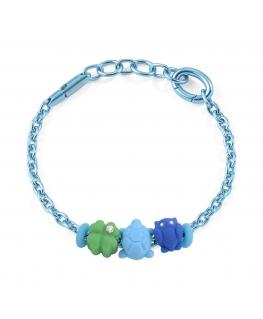 Bracciale Morellato Colours alluminio 3 charms