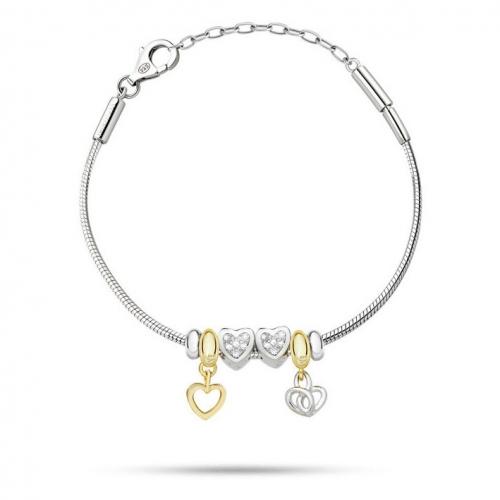 Bracciale Morellato Solomia argento 925 br. 4 beads donna
