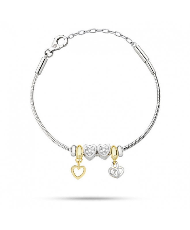 Bracciale Morellato Solomia argento 925 br. 4 beads donna - galleria 1