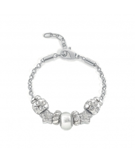 Bracciale Morellato Drops acciaio 7 beads