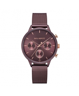 Paul Hewitt Watch everpulse d.mauve dial d.mauve met