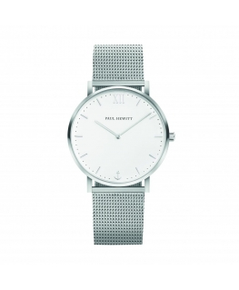 Paul Hewitt Watch sailor line white dial br ss